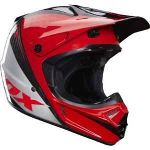 Fox Racing V3 Carbon Chad Reed Helmet Red 12 (M) Automotive
