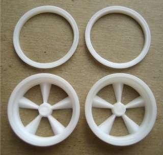 Resin 1/16 American 5 Spoke F/C Front Wheels   Revell