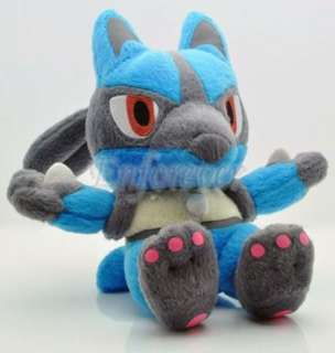 Pokemon 7 Plush LUCARIO Doll Toy New^PB12