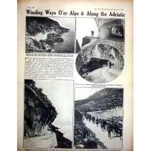 World War 1919 French Gun Mariakerke Soldiers Grappa