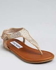 Steve Madden Girls JBeaming Sandals   Sizes 13, 1 5 Child
