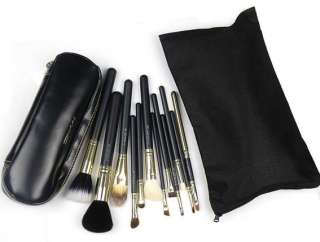 12 pc Professional Makeup Brush Cosmetic Brush Set With