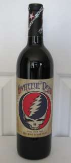 new item wines that rock grateful dead steal your face 1st edition