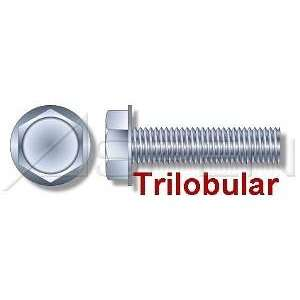 000pcs per box) Trilobular Thread Rolling Screws Hex Washer Zinc