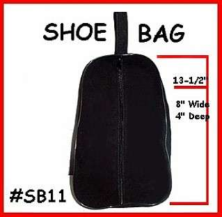 Shoe bag or case used for travel to keep your Dance or Golf Shoes