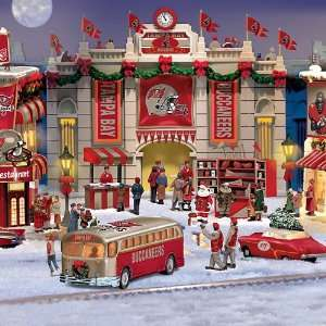 Tampa Bay Buccaneers Collectible Christmas Village