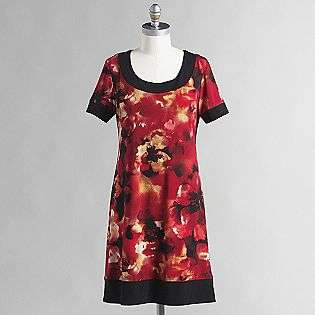 Womens Floral Print Frame Dress  Ronni Nicole Clothing Womens