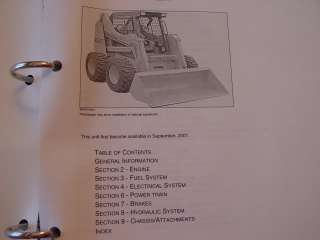 CASE IH 85XT UNI LOADER SKID STEER TRACTOR PARTS MANUAL