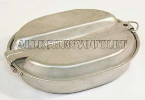 US ARMY USMC MILITARY WWII WAR ERA DATED 1944 Mess Kit Pan Plate NICE
