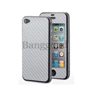 Fiber FULL BODY Skin Sticker Cover Protector For iPhone 4 4S 4G