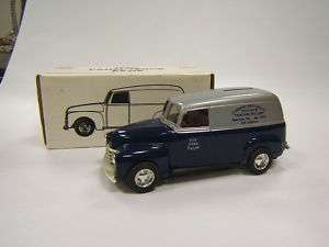 Ertl 1950 Chevrolet Panel Truck Cumberland Valley Tract