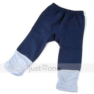 2x Sweet Baby Infant Boy Girl Winter Warm Cotton Bottoms Pants