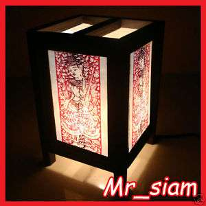 Asian Oriental Table Lamp THAILAND ANGEL Styles S