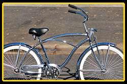 Srpinger fork beach cruiser bike bicycle Micargi Cougar GTS men