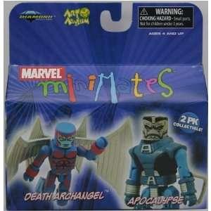 Marvel Minimates 2Pk Collectible Figures   Death Archangel