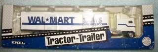 ERTL WAL*MART Tractor Trailer Truck, !:64 Die cast Metal 1994
