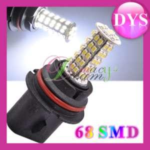 Car 68 SMD LED 9007 HB5 Fog Light White Bulb 12V,C