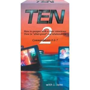 Ten   Commandments 8 & 7 [VHS] Movies & TV