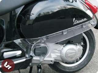 VESPA GTS/GTV 125/250/300 Custom Clear Side Panel Trim