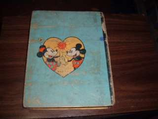 The Story of Mickey Mouse Big Big Book 4062 fr+(1935)
