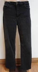 NYDJ Not Your Daughters Jeans Tummy Tuck Black Stretch Pants Sz 14