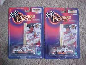 WINNERS CIRCLE 1/64 SCALE ALAN KULWICKI HOOTERS CAR X2
