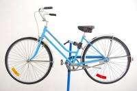 1974 Schwinn Breeze 17 Bike Opaque Blue Ladies Bicycle Coaster Brake