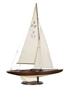 Dragon Olympic Racing yacht Wooden Model Sailboat New