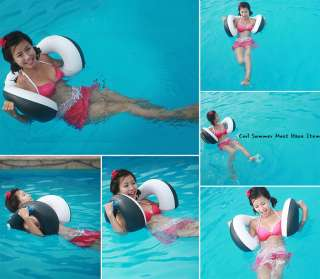 Character Swimming Pool Float 2 holes Dream Tubes