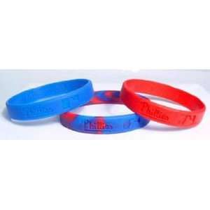 Major League Baseball Team Wrist Band Sets   Philadelphia