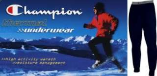 Champion Performance Thermal Underwear Pants for Men Clothing