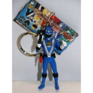 Power Rangers RPM Figures w/keychain blue  Banpersto Japan