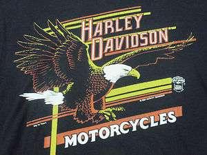 VTG 80s Harley Davidson Screaming Eagle T Shirt M 1984