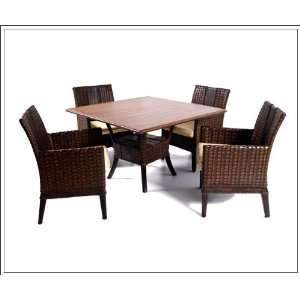 154025 Grand Cayman Round Table with Stone Top 154025 Home & Kitchen