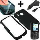 Screen Shield + FULL BLING ZEBRA Case Cover TRACFONE NET 10 LG 500G