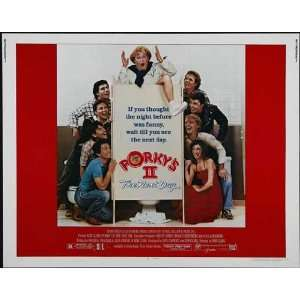 Porkys 2: The Next Day Poster Movie Half Sheet 22 x 28 Inches   56cm