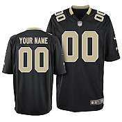Mens Nike New Orleans Saints Customized Game Team Color Jersey (S 4XL
