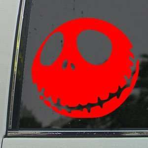 Red Decal JACK SKELLINGTON Red Sticker: Arts, Crafts & Sewing
