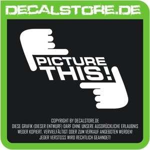 2x PICTURE THIS Sticker Aufkleber Shocker DUB OEM FUN