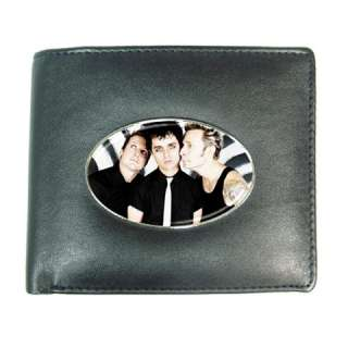 Green Day Mens Leather Wallet Credit Card Gift