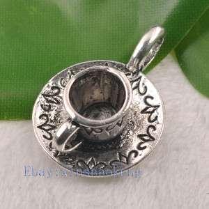 FREE SHIP 40pcs Tibetan Silver Lovely Teapot Charm Pendents KP4821