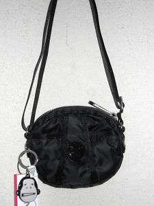 Kipling Black Egina Mini Shoulder X Body Handbag AC3772