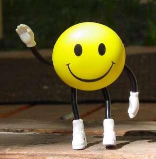 Flexible SMILEY SMILE FACE Critter w/Arms/Legs L@@K