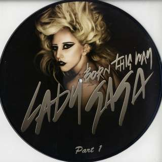 Lady Gaga   Born This Way Part 1 (Ltd Picture Disc) NEW