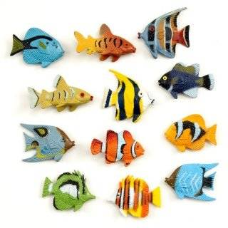 Assorted Plastic Tropical Fish (12) Party Supplies