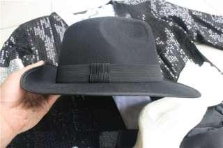 Michael Jackson Billie Jean Kostüme MJ Hut Jacke Hose Handschuh