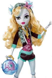 NEU 1. Serie Monster High Lagoona Blue First Edition mit Neptuna OVP