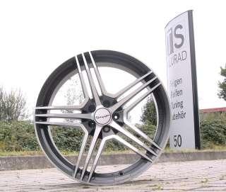 Tomason TN5 schwarz 19 Zoll Audi Mercedes Seat VW