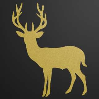Decal Sticker Deer car window Hunter Hunting W73W8