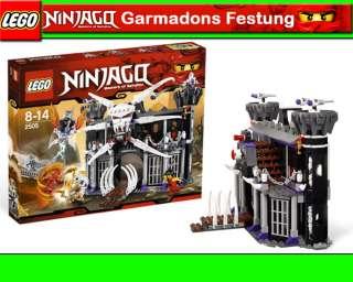 NEU LEGO NINJAGO 2505 Garmadons Festung inkl.Kai, Nya, Garmadon